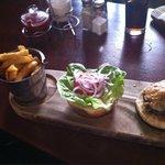 The Black Sparrow burger!