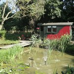 Vagon,habitacion jardín