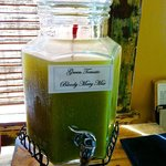 Green tomato bloody mary mix...zowie