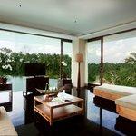 Three Bedroom Pool Villa - Living Room