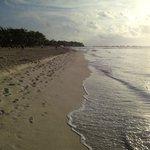 Mahekal beach looking north