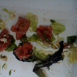 Smushed tomatoes and limpy lettuce from Panera in Lakewood