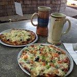 Mug club and great pizza!