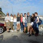 Setting off to Capri at the piccolo marina