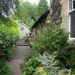 Ivythwaite garden path