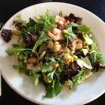 My shrimp salad - yummy!
