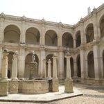 Area central de Museo, ex convento de Santo Domingo