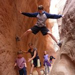Orderville slot canyon near to Kanab