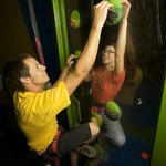 Have a race on 'Face to Face' in Clip 'N Climb