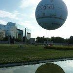 tethered gas balloon