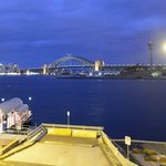 View from The Bartizan: Luna Park and cruise ships