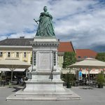 Maria Theresa Statue, Neuer Platz, Klagenfurt.