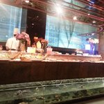 the Sushi counter