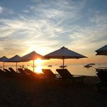 Semawang Beach in the morning
