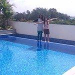 Enjoyed the pool side :)