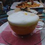 carrot cappuccino  yum!