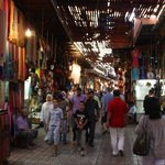 In the souq