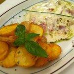 cotoletta alla bolognese con patate