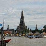 Chao Praya River & Wat Arun
