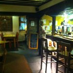 Cosy bar area