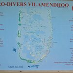 A selection of dive sites