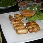 Shrimp & Crab springroll