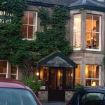 Howtown Hotel at dusk