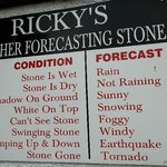 A little of Rick`s wit-stone was hanging  nearby!