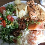 Fishy salad