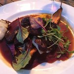 Wild boar served at Full Moon Dinner