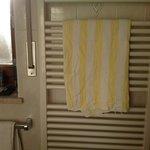 asciugamano rotto