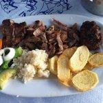 Piatto di carne ottimo!