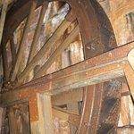 The underground water wheel