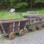 Mine trucks