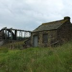 The above ground water wheel