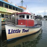 Little toot boat