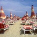 Spiaggia convenzionata con hotel a Villa Rosa