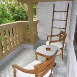 La terraza de nuesra habitación