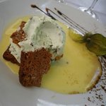 Postre menu a 20 €: helado de After Eight