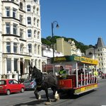 Horse tram at Silvercraigs