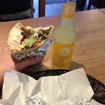Burrito und Limo