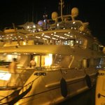 Ibiza Marina - many luxury yachts
