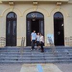 frente do museu
