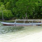 Barco del alojamiento