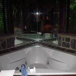 Bathtub in master