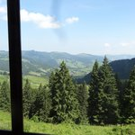 Some of the View - Oberiberg from the Restaurant