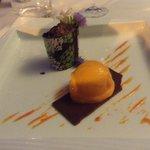 Cremoso al Cioccolato e Gelato al Peperoncino