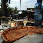 pizza Margarita partagée avec ma femme  5€
