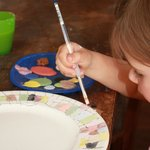 Pottery painting for young and old