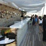 Le café restaurant sur le toit